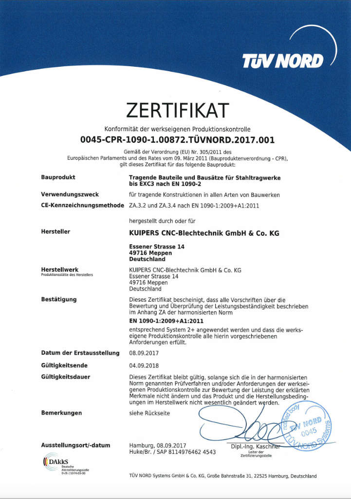 Bild_Zertifikat_EN_1090_EXC3_2018_DE_Kuipers_technologies