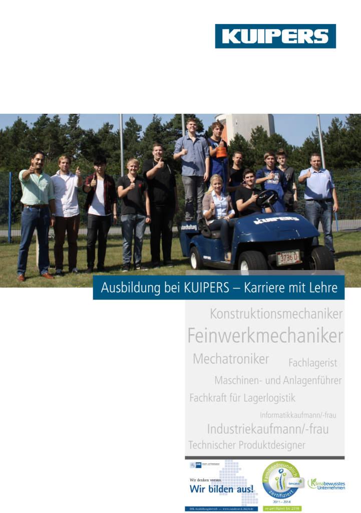 KUIPERS_technologies_Ausb ildungsprospekt